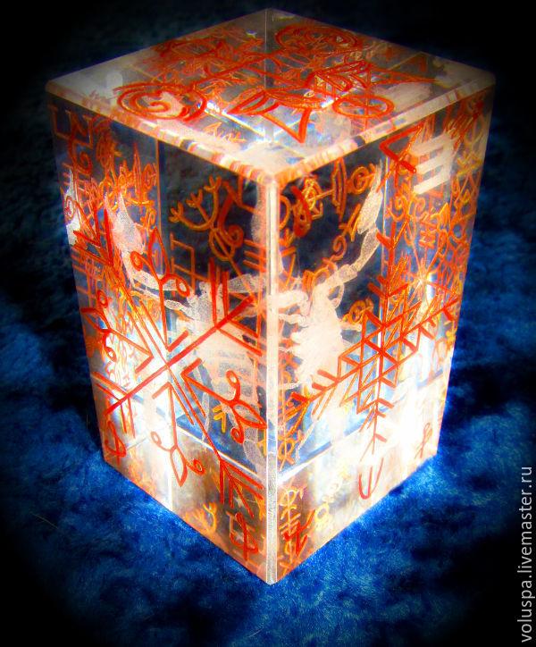 """Куб-Стелла""""Бизнес-Артефакт"""" (усиленный вариант), Amulet, Sochi,  Фото №1"""