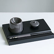 Канцелярские товары handmade. Livemaster - original item The set of objects for writing. Handmade.