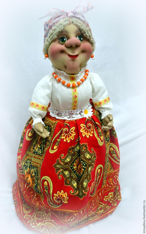 Кукла на чайник своими руками фото