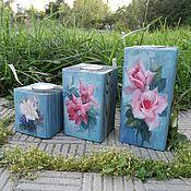 Для дома и интерьера ручной работы. Ярмарка Мастеров - ручная работа Подсвечники. Handmade.