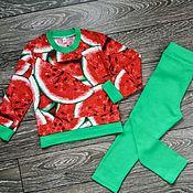 Tunics handmade. Livemaster - original item Tunic and leggings for girls. Handmade.