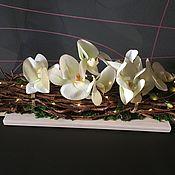 Композиции ручной работы. Ярмарка Мастеров - ручная работа Орхидея. Handmade.