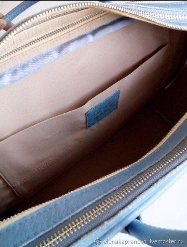 """Кожаный чемодан """"Ручная кладь"""""""
