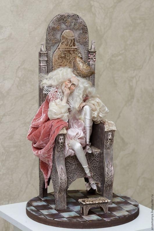 Коллекционные куклы ручной работы. Ярмарка Мастеров - ручная работа. Купить Влюбленный старец. Handmade. Комбинированный, Паперклей