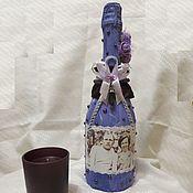 Свадебный салон ручной работы. Ярмарка Мастеров - ручная работа Шампанское на Аметистовую свадьбу (48 лет). Handmade.