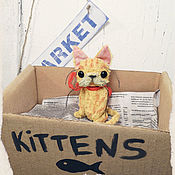 Куклы и игрушки ручной работы. Ярмарка Мастеров - ручная работа ONLY KINGS cat 374. Handmade.