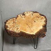 Столы ручной работы. Ярмарка Мастеров - ручная работа Журнальный столик из слэба. Handmade.