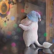 Куклы и игрушки ручной работы. Ярмарка Мастеров - ручная работа Кому  счастье в шапочке?. Handmade.