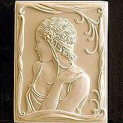 Материалы для творчества handmade. Livemaster - original item Silicone molds for soap Vintage Flirty lady. Handmade.