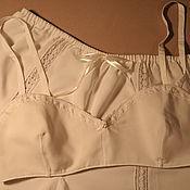 Одежда ручной работы. Ярмарка Мастеров - ручная работа Комплект белья в ретро стиле.. Handmade.