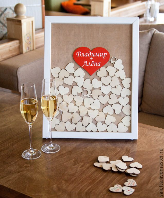 Рамки для свадебного подарка 141
