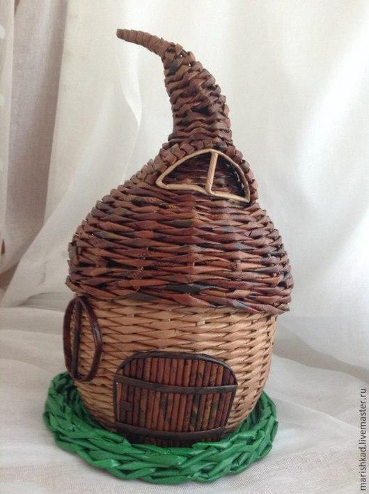 Детская ручной работы. Ярмарка Мастеров - ручная работа. Купить шкатулка-домик. Handmade. Разноцветный, ручная работа, дизайн