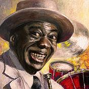 Картины и панно handmade. Livemaster - original item Picture - King of jazz. Handmade.