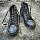 Обувь ручной работы. Ярмарка Мастеров - ручная работа. Купить Кеды из натуральной кожи питона.. Handmade. Кеды, кеды в наличии
