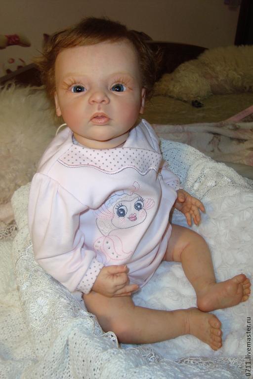 Куклы-младенцы и reborn ручной работы. Ярмарка Мастеров - ручная работа. Купить Малышка Ливия.. Handmade. Бежевый