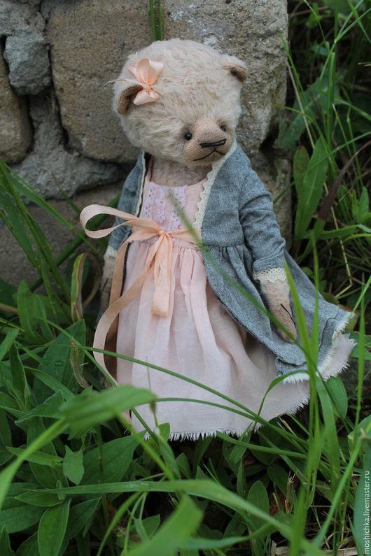 Мишки Тедди ручной работы. Ярмарка Мастеров - ручная работа. Купить Елизавета. Handmade. Комбинированный, пара мишек тедди, хлопок