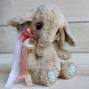 Куклы и игрушки ручной работы. Ярмарка Мастеров - ручная работа Слоник ангел-хранитель авторская игрушка. Handmade.
