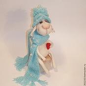 Куклы и игрушки ручной работы. Ярмарка Мастеров - ручная работа Овечка Пылкое Сердечко-Символ 2015 года. Handmade.