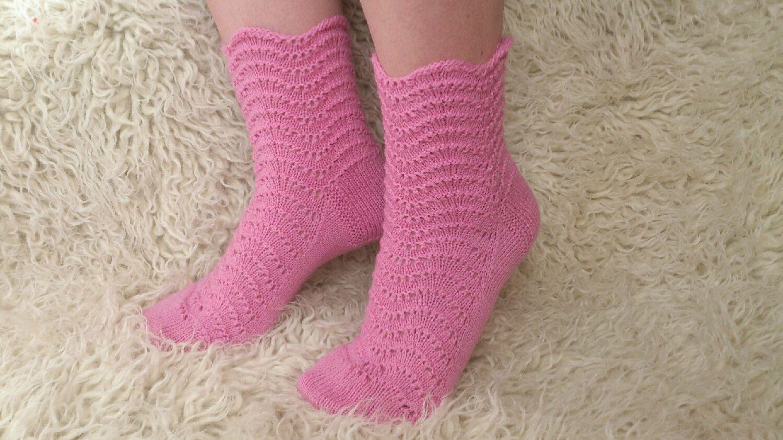 Фото узоров вязаных носок