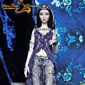 Шарнирная кукла ручной работы. Ярмарка Мастеров - ручная работа Шарнирная фарфоровая кукла царевна Будур. Продана, возможен повтор. Handmade.