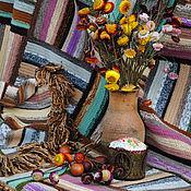 """Для дома и интерьера ручной работы. Ярмарка Мастеров - ручная работа Ковер """"К празднику"""". Handmade."""