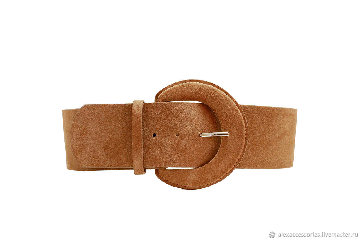 Copy of Copy of Copy of Copy of Copy of Beige suede belt, Straps, Moscow,  Фото №1