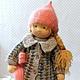 Вальдорфская игрушка ручной работы. Асенька, 42 см. svetlana. Ярмарка Мастеров. Текстильная кукла, кукла текстильная, игрушка для ребенка