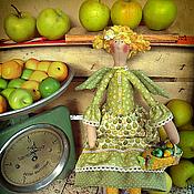 Куклы и игрушки ручной работы. Ярмарка Мастеров - ручная работа Яблочная Фея Антонина. Handmade.
