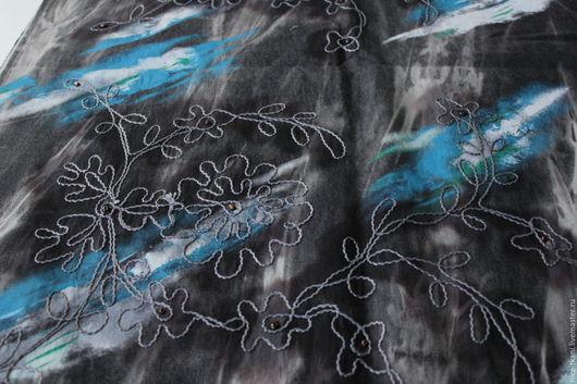 Шитье ручной работы. Ярмарка Мастеров - ручная работа. Купить 24401 джинс Desigual с элементами ручного декора. Handmade. Комбинированный