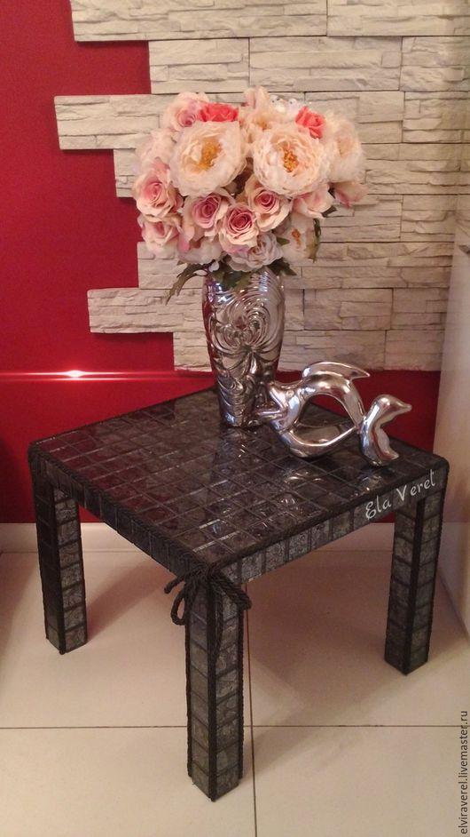 Мебель ручной работы. Ярмарка Мастеров - ручная работа. Купить Интерьерный  столик '' ТУТТИ ''.. Handmade. Комбинированный
