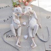 """Куклы и игрушки ручной работы. Ярмарка Мастеров - ручная работа Крысы-близнецы """"TwinRats"""". Handmade."""