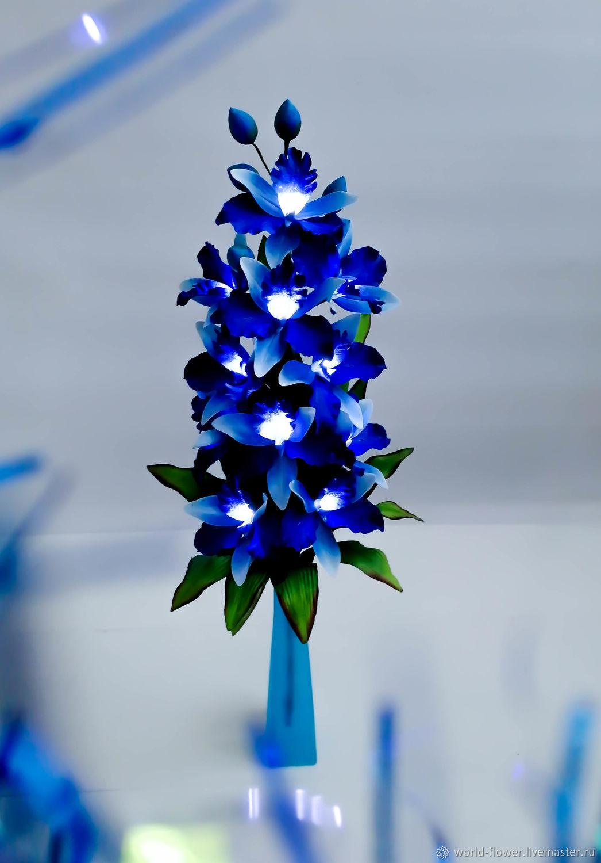 Flower-lamp Orchid ' Star', Nightlights, Surgut,  Фото №1