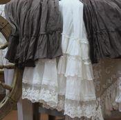 """Одежда ручной работы. Ярмарка Мастеров - ручная работа Костюм в бохо-стиле юбка """"Горький шоколад -2"""". Handmade."""