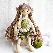 Куклы и игрушки ручной работы. Ярмарка Мастеров - ручная работа Зяблик (16 см сидя). Handmade.