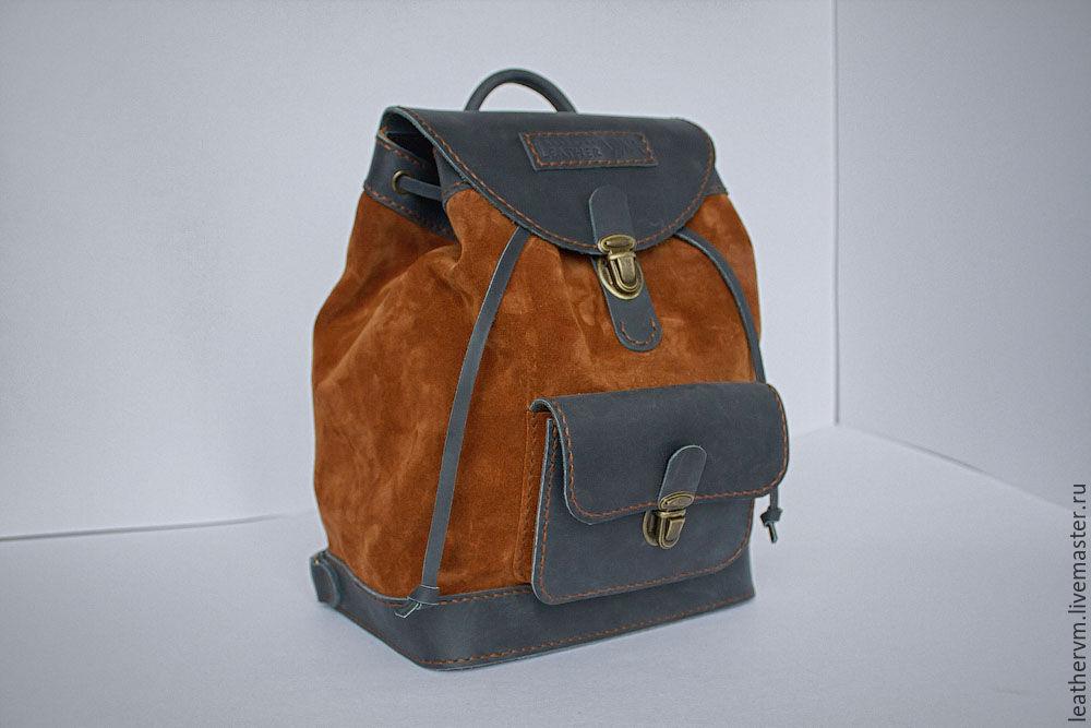 Кожаный рюкзак, Рюкзаки, Санкт-Петербург,  Фото №1