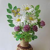 """Цветы и флористика ручной работы. Ярмарка Мастеров - ручная работа Букет """" Удачный"""". Handmade."""