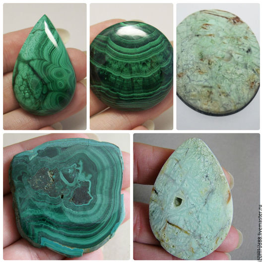 Размеры и цены камней указаны под фото