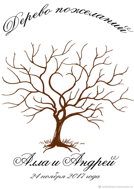 потребуется шаблон для дерева пожеланий врачей свидетельствуют том
