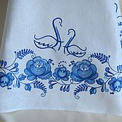 Свадебный салон ручной работы. Ярмарка Мастеров - ручная работа Свадебный рушник с вышивкой 1020. Handmade.