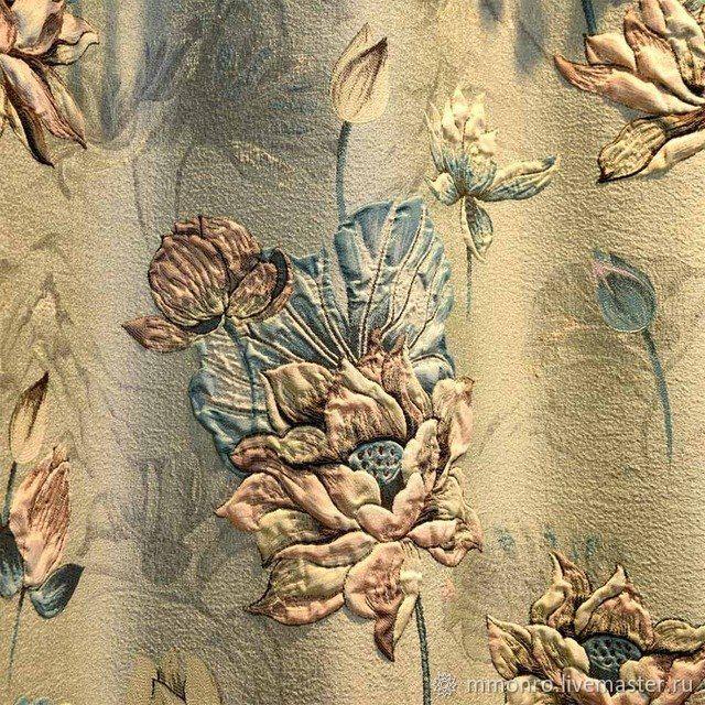 Fabric for curtains, jacquard. Lotus, Fabric, Podolsk,  Фото №1