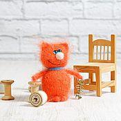 Куклы и игрушки ручной работы. Ярмарка Мастеров - ручная работа Кот рыжий на удачу. Мандаринчик. Handmade.
