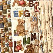 Работы для детей, handmade. Livemaster - original item Baby bear blanket. Handmade.