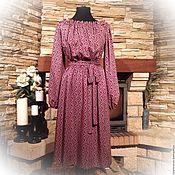 """Одежда ручной работы. Ярмарка Мастеров - ручная работа Платье """"Зимняя вишня"""". Handmade."""
