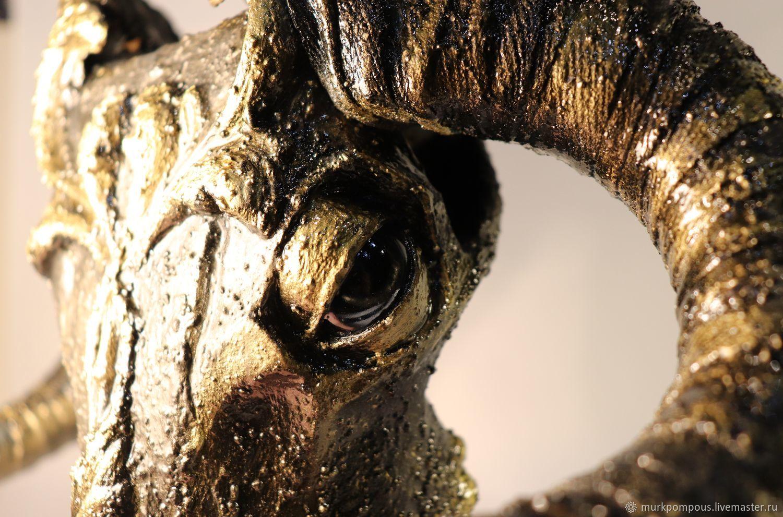 Искусственный череп барана