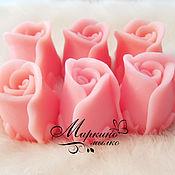 Мыло ручной работы. Ярмарка Мастеров - ручная работа Мыло Бутон розы 3D. Handmade.
