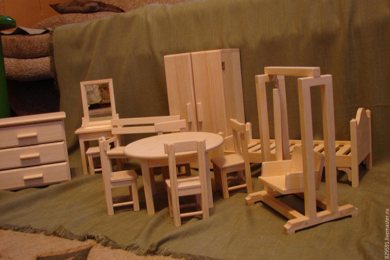 Мебель для кукол своими руками 26