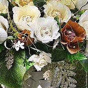 Свадебный салон ручной работы. Ярмарка Мастеров - ручная работа Карамельная свадьба ...........букет из конфет. Handmade.