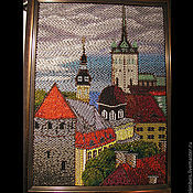 Картины и панно handmade. Livemaster - original item The picture is embroidered with beads