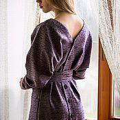 Одежда ручной работы. Ярмарка Мастеров - ручная работа Платье Ультрафиолет. Handmade.