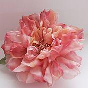 Украшения handmade. Livemaster - original item Rose silk Stella. Handmade.